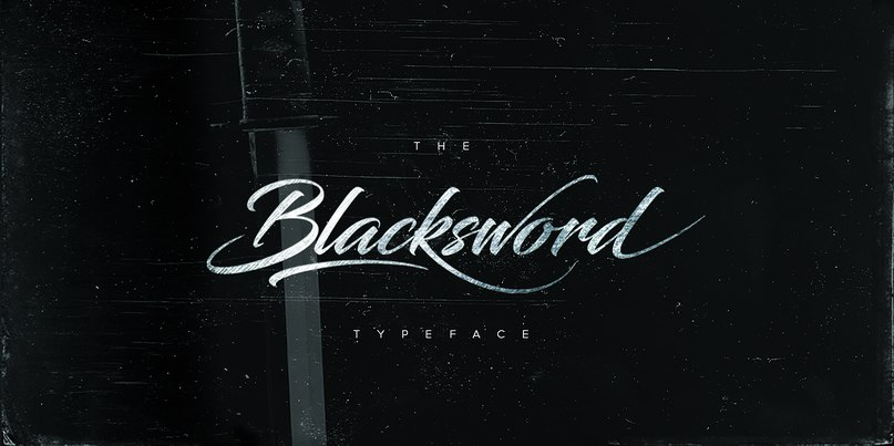 Blacksword шрифт скачать бесплатно