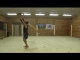 II Фестиваль Акро-йоги на Алтае. Lottery Flow. Hans Mets (Амстердам) и Наташа Бочкова (Томск)