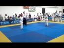 4-й Кубок Абхазии по косики каратэ. Август 2016 года. Кузин Егор 1 бой