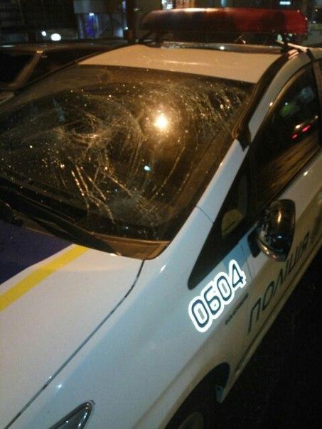 Трагедия в городе. Полицейские сбили человека (ФОТО, ВИДЕО)