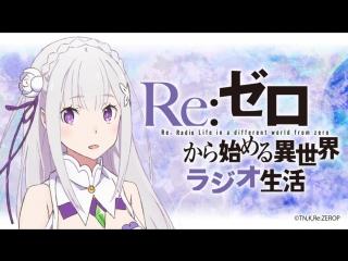 Re:Zero Kara Hajimeru Isekai Seikatsu. Радио-эфир, выпуск восьмой.