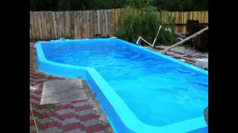 Вода в бассейне не зеленеет пергидроль