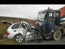 ЖЕСТОКИЕ Аварии на видеорегистратор, ДТП на дорогах. Car Crash Compilation