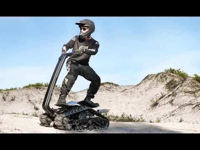 DTV Shredder: Гусеничный внедорожник для экстремалов