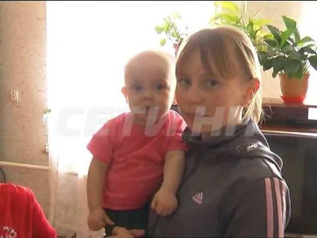 Решив подольше с друзьями молодая мамаша отправила малолетнюю дочь в кому