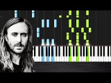 David Guetta - Hey Mama ft. Nicki Minaj - Piano CoverTutorial by PlutaX - Synthesia