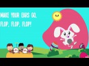 Easter Bunny Song | Kids Song | Lyrics | Nursery Rhyme | Easter Song | Dance