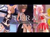 【TERA-MMD 60FPS】 エリーン3匹でN2+C TEST 【ElinsDance 테라 엘린으로】