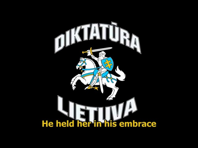 Diktatura - Jūratė ir Kastytis (English subtitles)