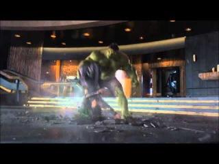 Прикол из фильма Мстители 2012 Халк: мелковат.