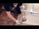 Установка усиленного алюминиевого каркаса на ванны Стандарт Джена
