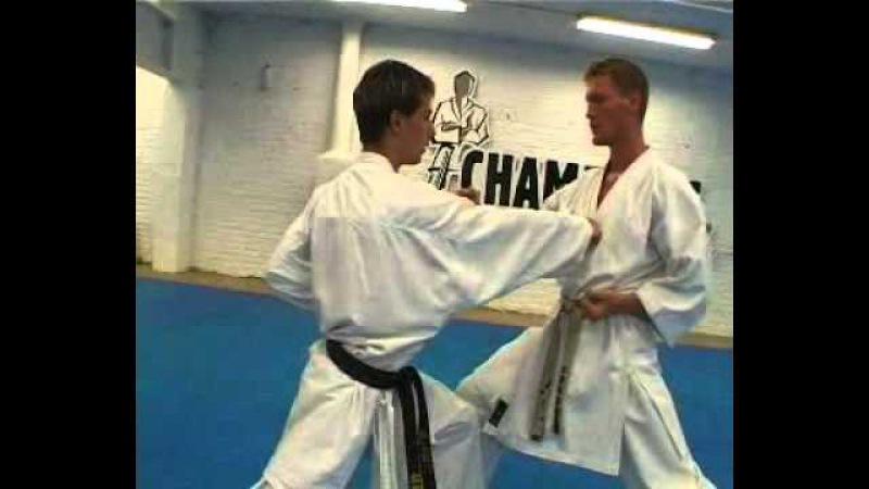 2003 Champions Grade 7Kyu Kumite sanbon 1