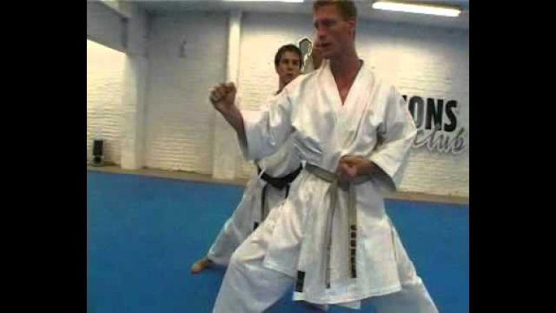 2003 Champions 7Kyu kumite sanbon 2