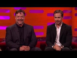 The Graham Norton Show S19E09 Jodie Foster, Russell Crowe, Ryan Gosling, Greg Davies