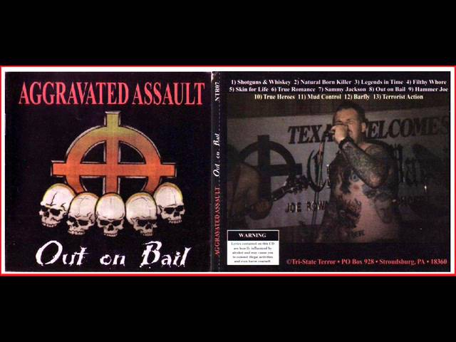 Aggravated Assault - Out On Bail [FULL CD] 1998