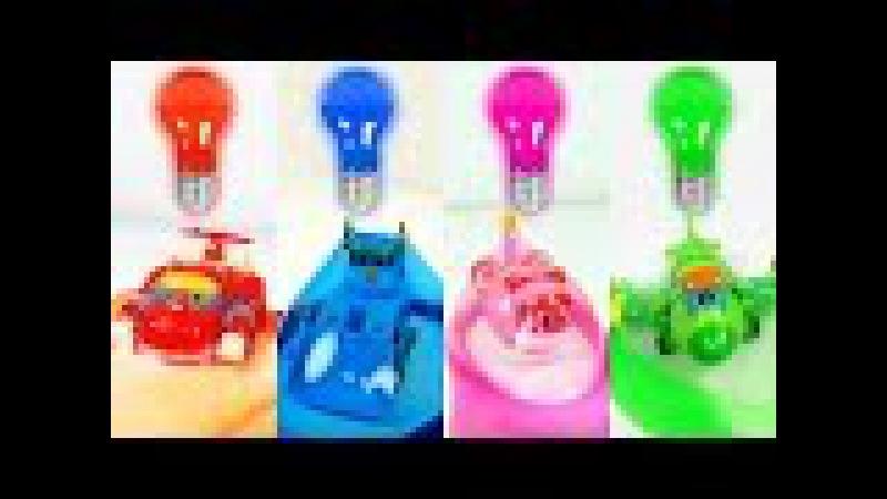 고고다이노 로봇공룡구조대 변신로봇 장난감 액체괴물놀이 - GoGo Dino Rescue robots transformers toys
