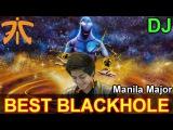 Fnatic DJ Enigma- Dota 2: Manila Major Fnatic vs LGD  @ Best BLACKHOLE of Manila Major