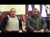 Луганск интервью с Армией Юго-Востока 07.04.2014 из захваченного здания СБУ