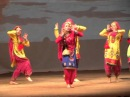 Punjabi dance by dance group Vasanta(Russia,Tver) Diwali 2015, Moscow