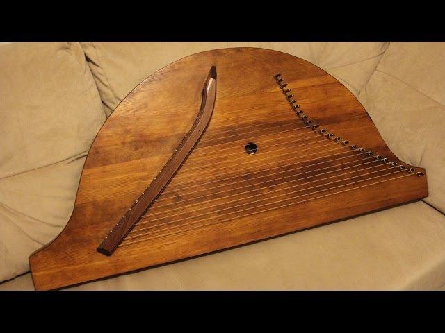 Отто Муро (Песнь предков) - обрядовый наигрыш марийцев на гуслях.