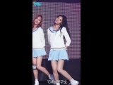 160416 TWICE - Me Gustas Tu @ Music Core (Tzuyu focus)