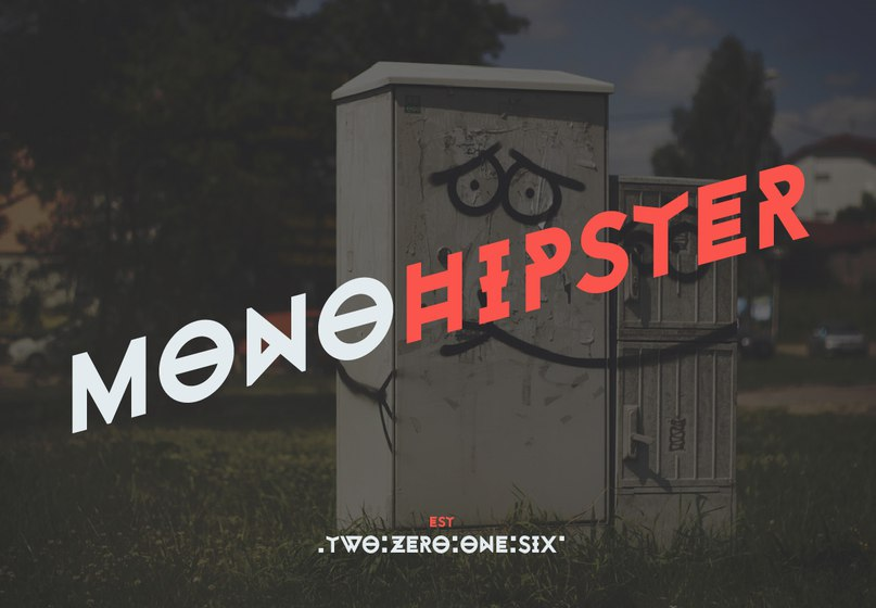 Download monohipster font (typeface)
