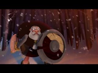 Сага о Бьёрне - Мульт про викинга (с субтитрами)