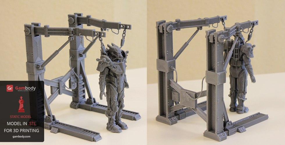 3D принтер Tesla Power Armor