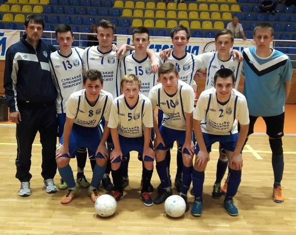 Чемпионат Украины (U-19). Представление участников. СумДУ (Сумы) - изображение 1