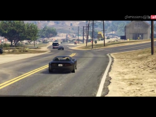 Fast Five Intro Scene! -- GTA 5 Online -- PC