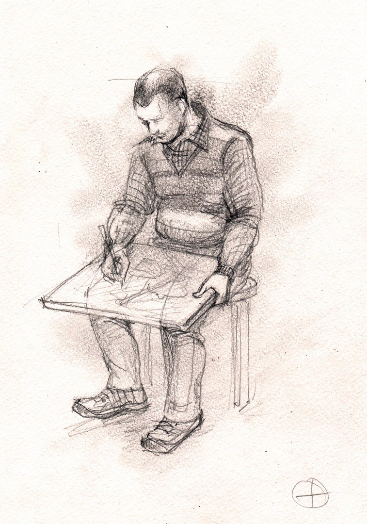 Афиша Калуга Зарисовки одетой и обнажённой натуры.