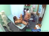 Brunette wearing tight fit nurse outfit fucks her patient  FakeHospital  Fake Hospital  Фальшивый госпиталь