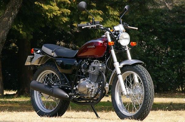 Учебный мотоцикл Honda FTR