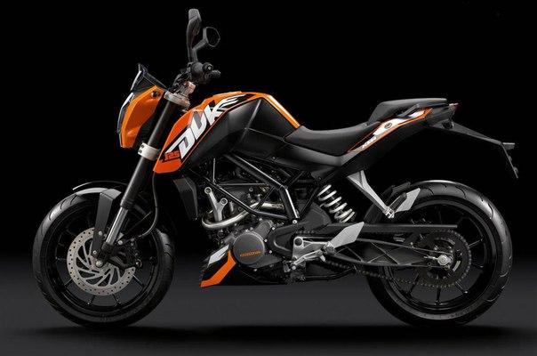 Учебный мотоцикл KTM Duke 200