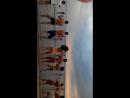 флешмоб импровизация от ребенка на пляже