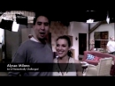 Alyssa Milano Wisegal (2008) Monavie on the set of RC