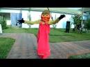 Маша танцует лезгинку