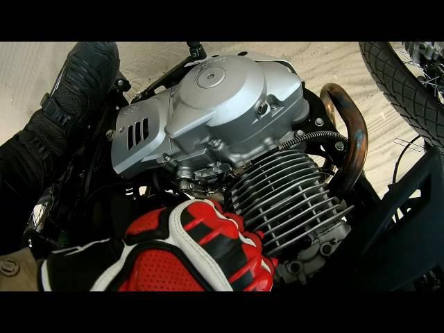поехал к Moto XyLigany почти кончился бензин