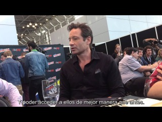 The X-Files (2016) - Chris Carter - David Duchovny - New York Comic Con 2015