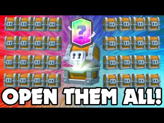 Clash Royale - OPENING DOZENS OF GIANT CHESTS!! THIS IS INSANE!