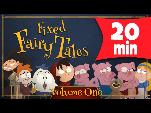 Fixed Fairy Tales Compilation Three Little Pigs Humpty Dumpty and Lots More
