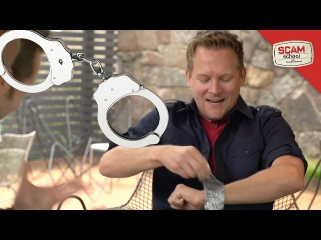 Six Ways to Escape from Handcuffs, Zip Ties Duct Tape!