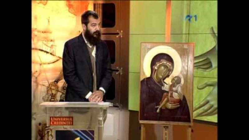 Interviu cu Mihai Coman pictor de icoane Universul Credinţei TVR 1