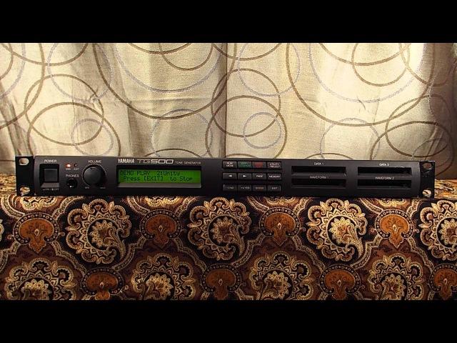 Yamaha TG500 Synthesizer Factory Demo Songs