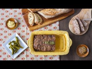 Rezept: Gourmet Terrine mit Leber und Morcheln