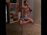Man pole dance with flute by ~paradox? :D