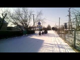 Радість снігу. с.Шевченко Скадовський р-н. 22.01.2016
