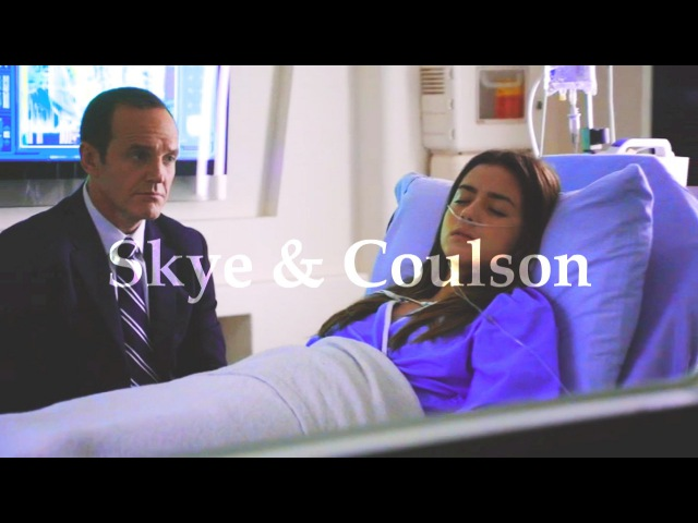 Skye and Coulson What I told her...