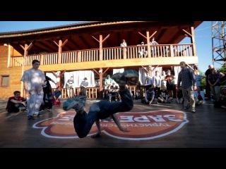 BATTLE ON THE HILL 6 | Breaking 1/4 | Шутов и Стич (Win) vs Ила и Чеснок