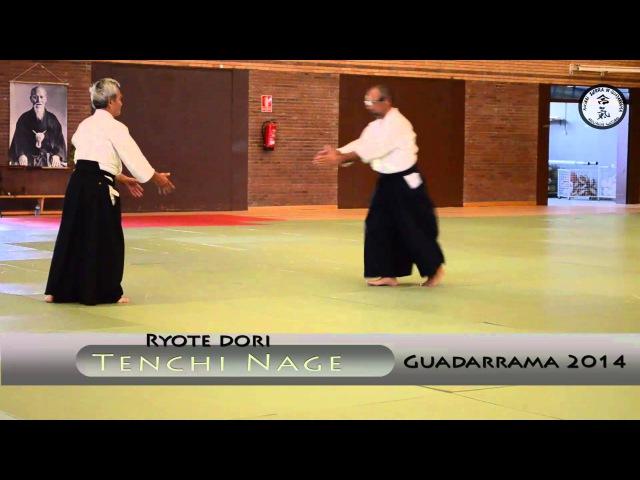 Ryote Dori - Tenchi Nage - Yasunari Kitaura Sensei - Guadarrama 2014